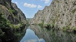 Matka Canyon at Skopje - Travel to Macedonia