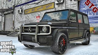 GTA 5 REAL LIFE MOD #718 -  LET'S TAKE A RIDE IN A G63/G65!!!(GTA 5 REAL LIFE MODS)