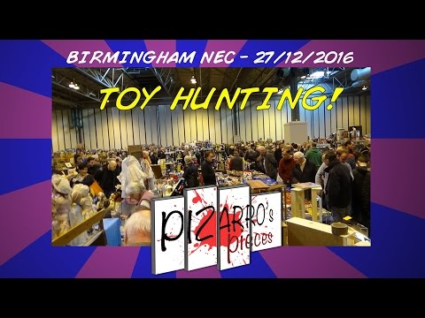 Vintage Toy & figure hunting at the NEC Birmingham 27/12/2016