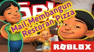 "Construction d'un restaurant pizza ""ROBLOX"" 2019"