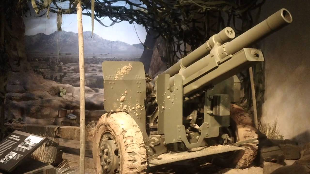 Howitzer MA  Mm The National World War II Museum New Orleans - World war ii museums in usa