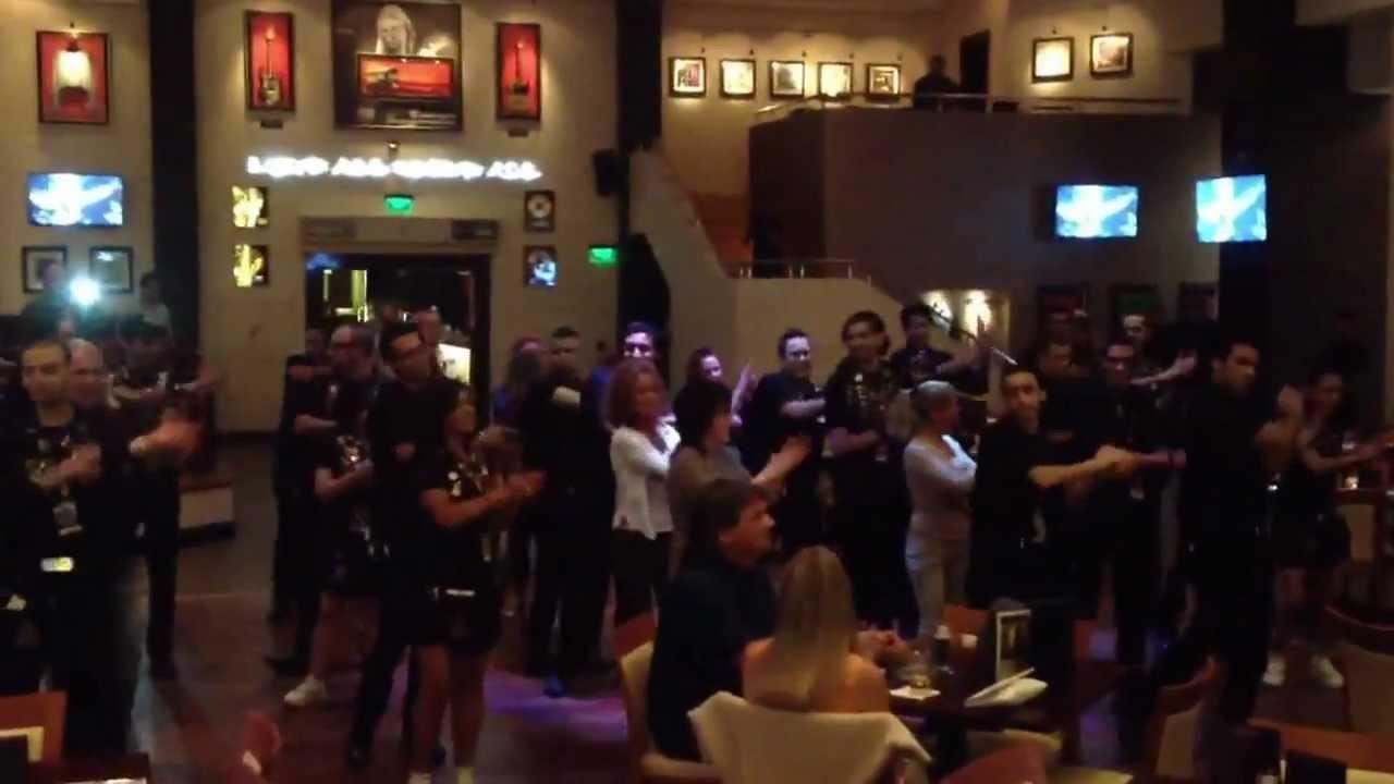 Hard Rock Cafe Staff Dance
