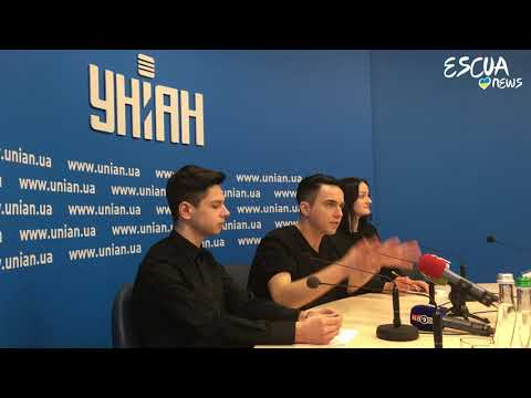 Press conference with MÉLOVIN for UNIAN TV (Eurovision_Ukraine 2018)