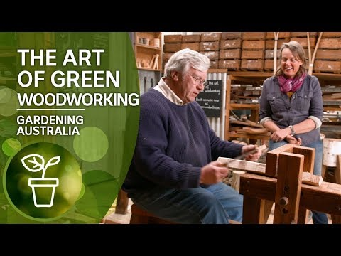 The Art Of Green Woodworking For Garden Tools