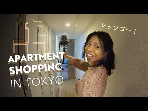 CENTRAL TOKYO APARTMENT TOUR   3 Prices, Sizes And Tips [PART 1]