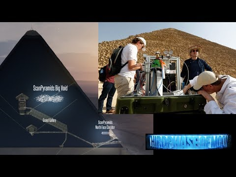"Scientist Can't Explain Large Unknown ""VOID"" Inside Great Pyramid! 10/2/17"