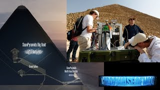 """Scientist Can't Explain Large Unknown """"VOID"""" Inside Great Pyramid! 10/2/17"""
