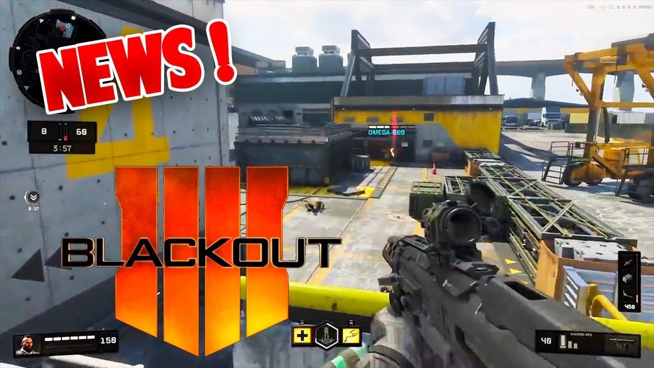 Black Ops 4: Nouveautés Blackout + Espace Requis PS4 & XBOX (BO4 FR)