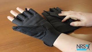 Leather Wheelchair Gloves Review