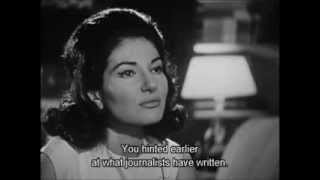 """Maria Callas interview with Bernard Gavoty : """"Une heure avec Maria Callas"""""""