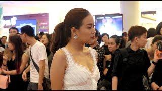Hoàng Thùy Linh mũm mĩm nhưng vẫn sexy dự ra mắt phim