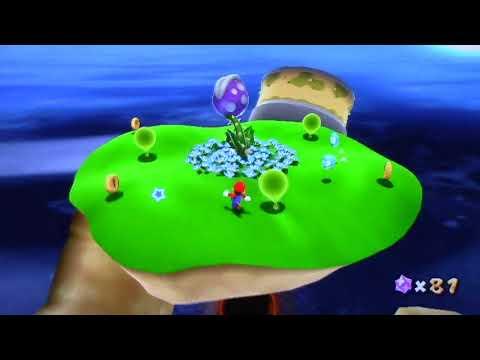 Super Mario Galaxy co-op playthrough pt4: Baby's First Star