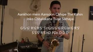 Dil Mera Churaya Kyun -Keyboard and Saxophone Cover