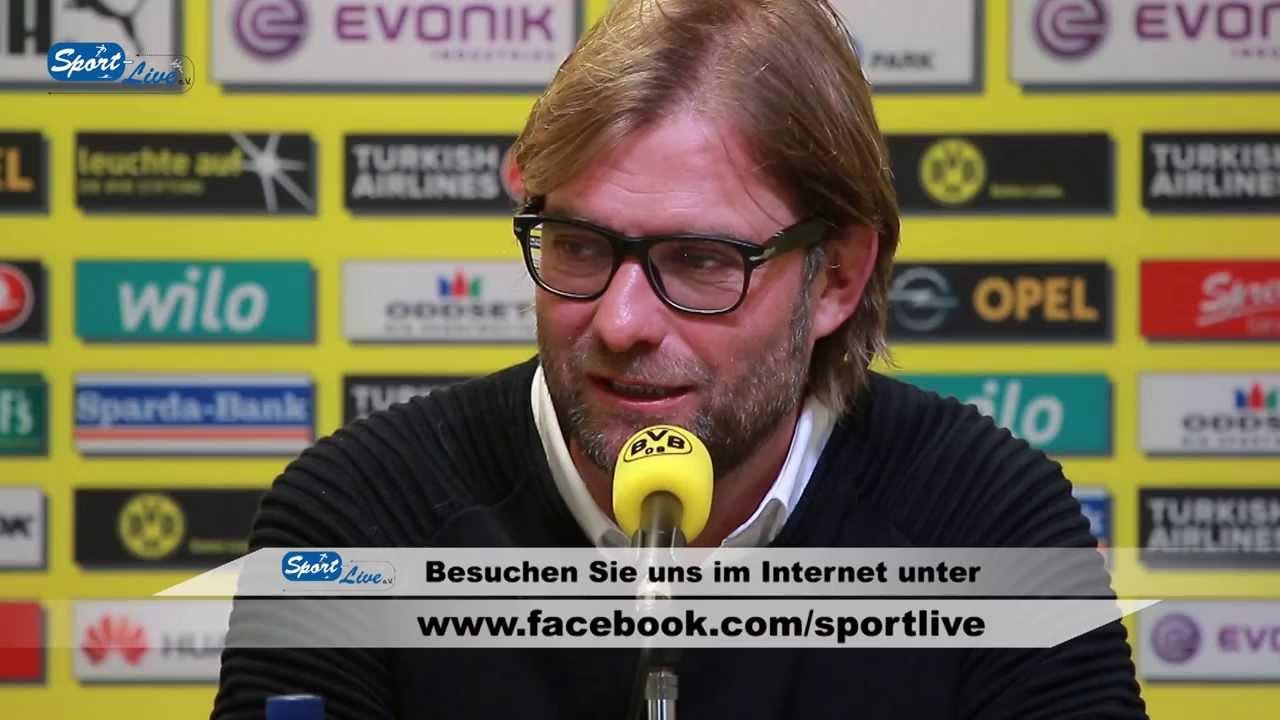 BVB Pressekonferenz vom 24. Oktober 2013 vor dem Revierderby zwischen S03+1 und Borussia Dortmund