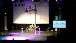 Laurence Hilsum: 2nd Place @ World Pole Dance Championship 2012.