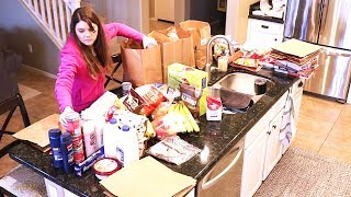 GROCERY HAUL ON A BUDGET // GOING GLUTEN FREE // FAMILY OF 4