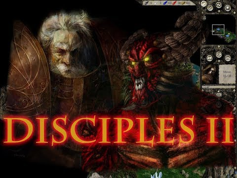 """Disciples 2. Авторская карта """"Ужас из склепа"""""""