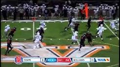 Williams Field #14 Isaiah Bennington 61 yard punt return TD