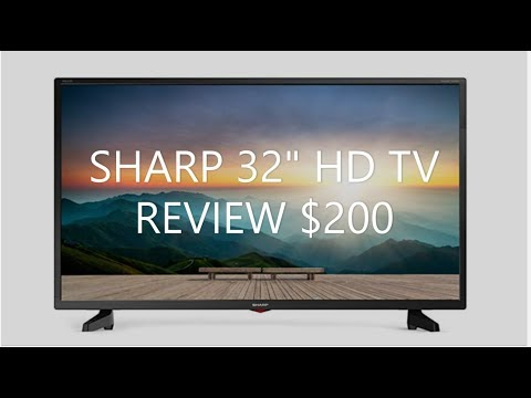 "SHARP 32"" HD TV REVIEW (1920 X 1080 RESOLUTION)"