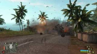 Crysis Warhead Mad world Slow motion