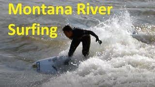 River Surfing  Brennan's Standing Wave ~ Clark Fork Tidal Bore Missoula Mt