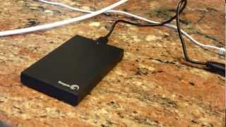 Seagate Expansion USB 3.0 hard drive 500 / 1 Terabyte Review STBX500100 STBX1000100