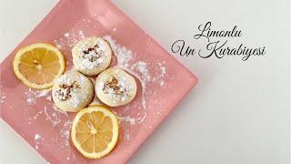 Limonlu Un Kurabiyesi - Pratik Tarifler / Tatlı Tarifleri / Yemek Tarifleri - Melis'in Mutfağı