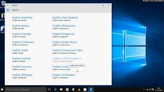 How to Change System Locale Windows 10