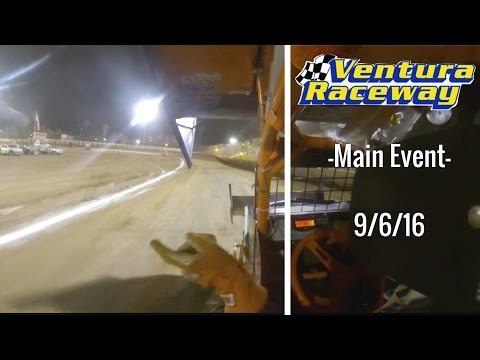 California Lightning Sprint at Ventura Raceway -Main Event- 9/3/16