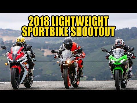 2018 Lightweight Sportbikes Shootout