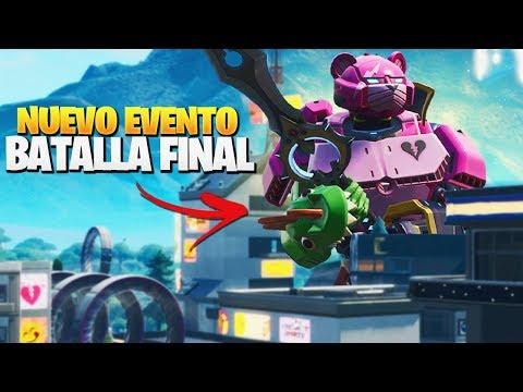 COMIENZA el EVENTO FINAL AHORA *ROBOT vs MONSTRUO* | FORTNITE: Battle Royale