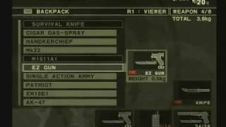 metal gear snake eater 3-ps2- how to find the end ntsc