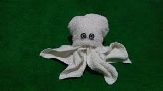OCTOPUS THE SECOND MODEL - MY TOWEL CREATION