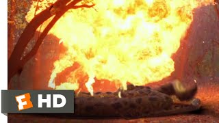 Anacondas: Trail of Blood (2009) - Blowing the Snake Scene (7/10) | Movieclips