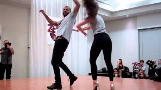 Brazilian Zouk Dance Steps Lesson Demo