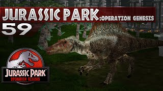 Jurassic Park: Operation Genesis - Episode 59 - Add a Spinosaurus