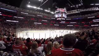 Chicago Blackhawks  (United Center) Blackhawks score a goal. (GoPro 4 Black)