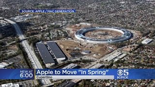 Apple Mega Spaceship Campus Sees Delay