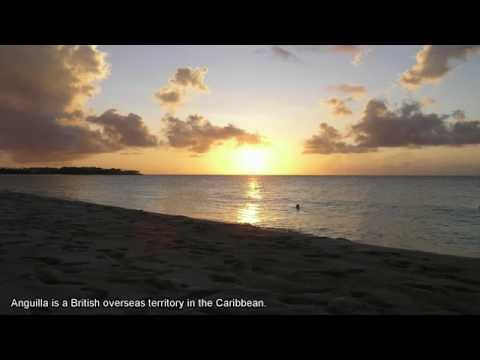 Anguilla, a British overseas territory in the Caribbean