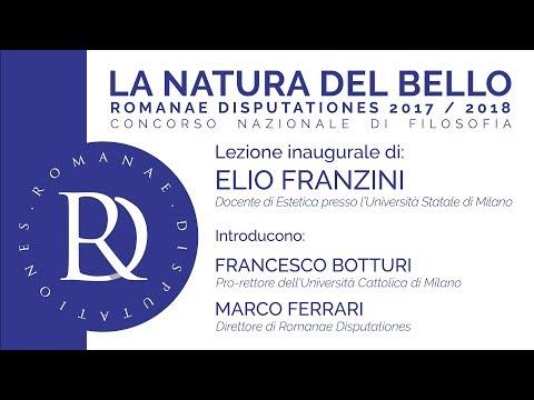 Elio Franzini - RD2018 - La natura del bello