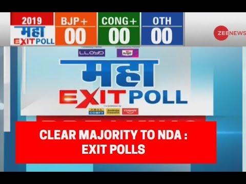 Maha Exit Poll 2019: Exit polls predict clear majority for PM Modi-led NDA