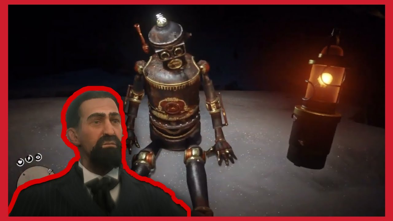 How to find Marco Dragic`s robot | RDR2