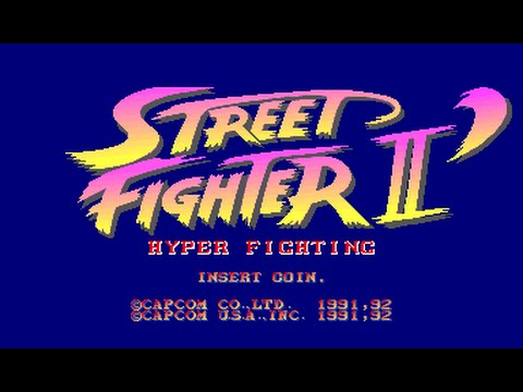 Street Fighter 2 Hyper Fighting Xbox 360 - TRAINING STAGE 1