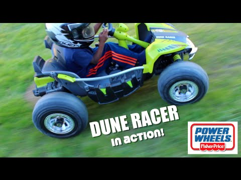 Wheels Dune Racer In Action Toyplaytv