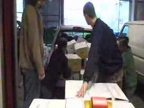Nucor donation at West Seattle Food Bank