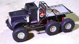 "RC ADVENTURES - ""BLACK PETER"" OiLFiELD TRUCK - Champion 6x6 - TTC 2015 WiNNER"