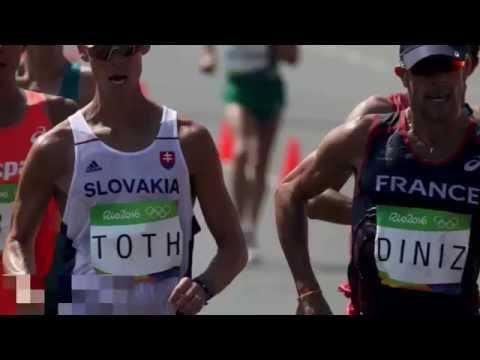 50 km walk poop french walker yohann diniz poos himself mid race in epic olympics fail
