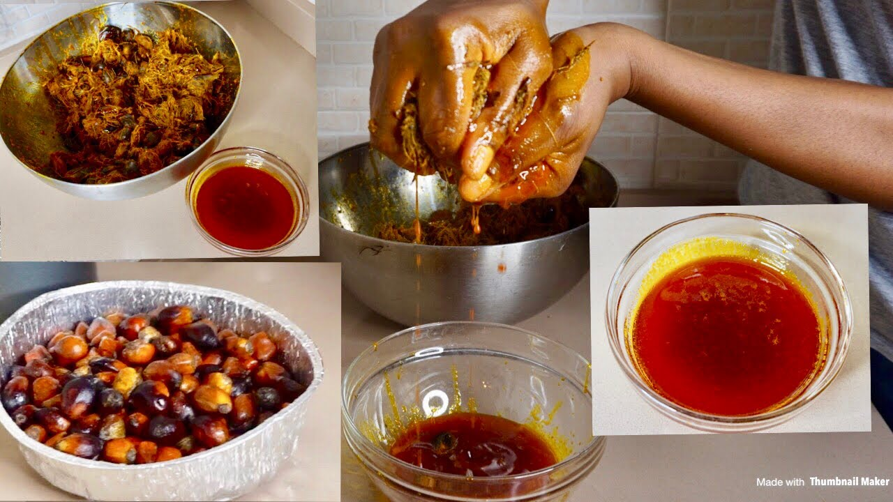 Download How To Extract Pure Palm Oil At Home. Local Way Of Making Palm Oil