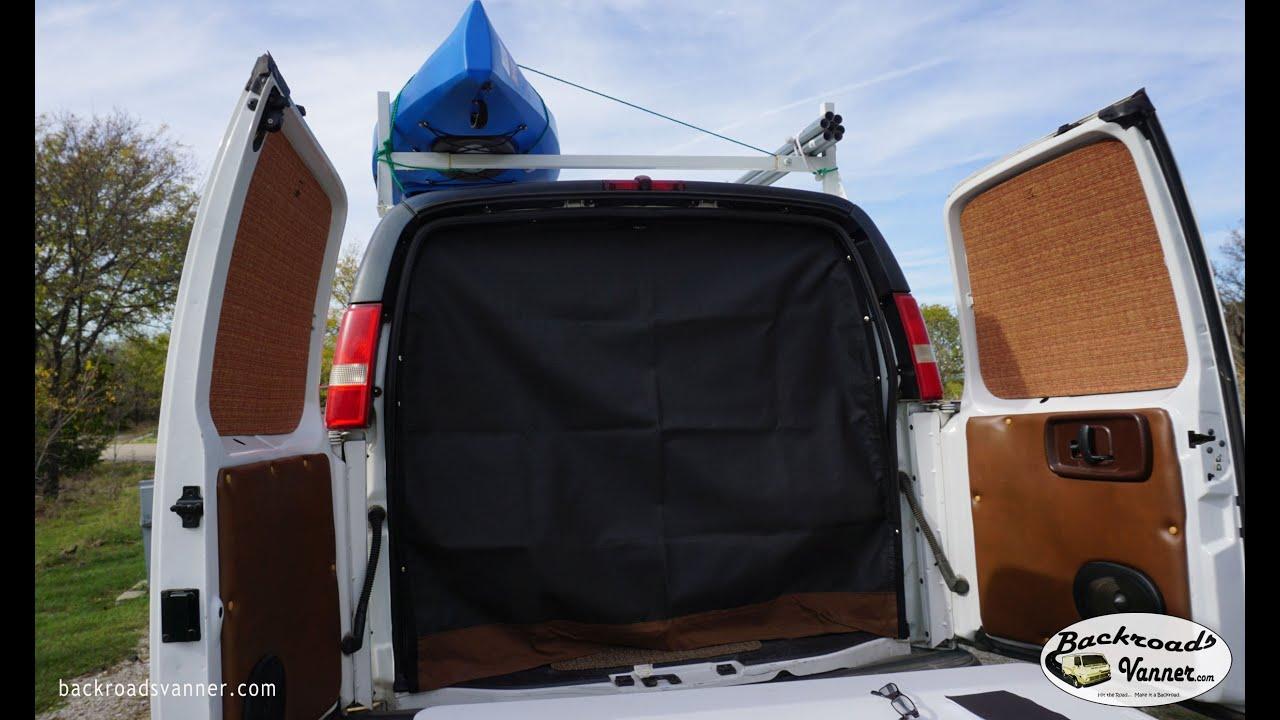 Van Life - Custom Van Screens - How To DIY Window Bug ...