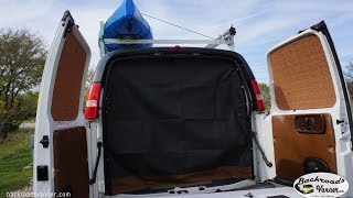 Van Life - Custom Van Screens - How To DIY Window Bug Screens For Camper Van